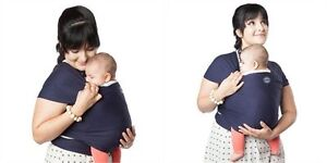 MOBY WRAP CLASSIC – NAVY Baby Carrier