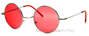 60s-Vintage-Retro-Lennons-Round-Circle-Frame-Sunglasses