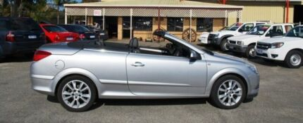 2007 Holden Astra AH MY07.5 Twin TOP Silver 4 Speed Automatic Convertible Bellevue Swan Area Preview