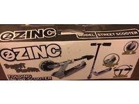 Kids zinc scooter