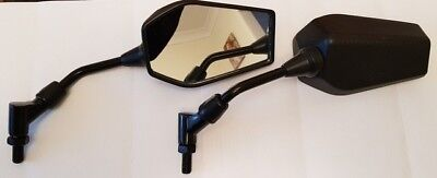 CARBON LOOK MIRRORS PAIR FOR TRIUMPH TIGER 800 2012