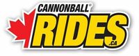 Cannonball Rides June 11th, 12th Do YOU HAVE WHAT IT TAKES?