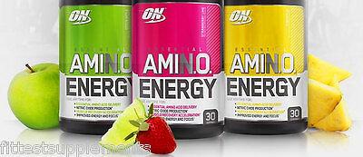 Optimum Nutrition On Amino Energy 30 Servings Bcaas Essential Amino Acids