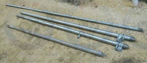 Wanted chainlink FENCE POSTS 10'