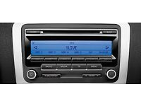 VW RCD 310 CAR RADIO CD PLAYER GOLF PASSAT TOURAN CADDY TRANSPORTER POLO