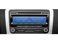 VW RCD 310 CAR RADIO CD PLAYER (With code)