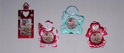 Christmas photo frames Santa, Angel, Snowman 2 X 3 photo - Angel Photo Frames