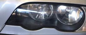 Bmw e46 coupe headlight n/s