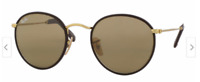 Lost Brown and Gold Round Raybans in the South End/Dal area!