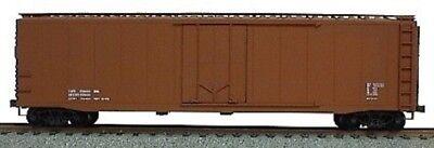 Accurail HO Data Only Oxide 50' AAR Plug Door Riveted Boxcar ACU5199 - Ho 50' Aar Plug Door