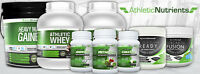 ATHLETIC NUTRIENTS : WHEY, BCAA, PRE-WORKOUT, FAT BURNER +++