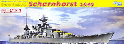 Dragon #1062 1/350 German Battleship Scharnhorst, 1940 Off the coast of Norway