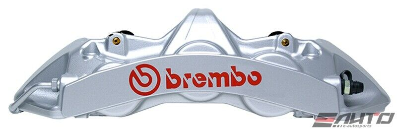 Brembo Front Gt Brake Upgrade -6pot Caliper Yellow For G37s 370z Q60 Q50 Akebono
