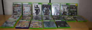 Xbox 360 games - Your Pick - Prices in description