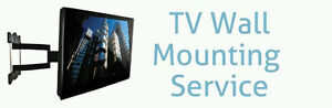 Professional TV Wall Mounting Services - $80