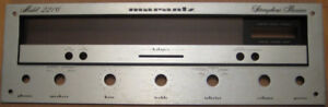 Vintage Marantz Receiver Model 2216 Faceplate