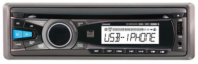 Ipod Player Controller - DUAL XDMA450 SINGLE-DIN CAR CD PLAYER iPHONE/iPOD CONTROL USB/AUX STEREO RADIO