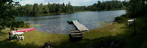 Waterfront Landscaped Cottage for sale 95 Chemin Lac Shea B