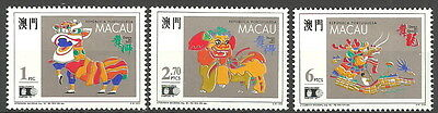 Macau - Tanzkostüme Satz postfrisch 1992 Mi. - Frische Kostüm