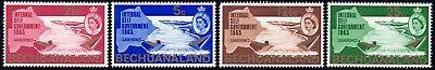 1965 Bechuanaland SC# 198-201 - International Self Government, Mar. 1. 1965- M-H