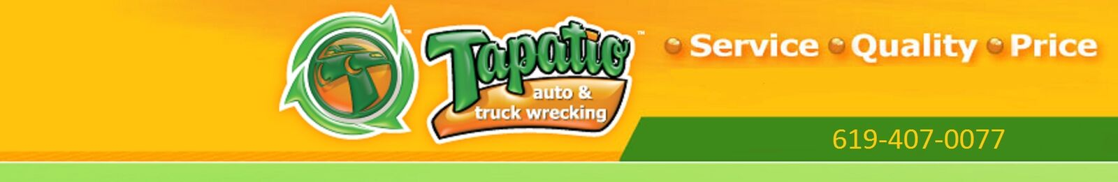 Tapatio auto & truck wrecking