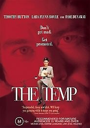 The Temp (DVD) - Faye Dunaway / Timothy Hutton - New and Sealed