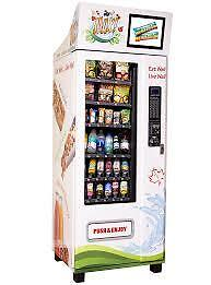 Healthy Snacks and Beverages Vending Machine Business for Sale