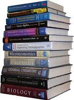 Used University & College Textbooks - only $5 each!