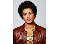 BRUNO MARS 2ND & 3RD MAY SEATS.