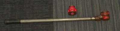 Ridgid 00-r Pipe Threader Ratchet With 12 34