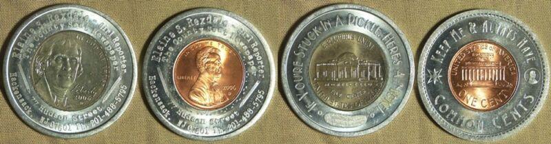 Encased Coins: 8 Misc.
