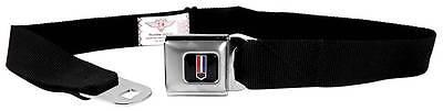 Seatbelt Men Canvas Web Military Webbing Camaro Black Chevrolet Logo SS