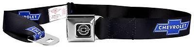 Seatbelt Men Canvas Web Military Chevrolet Impala Camaro Cruze Silverado Logo
