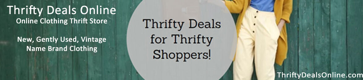 Thrifty Deals Online Thrift Shop