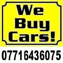 We Buy Any Car for Cash UK 07716436075