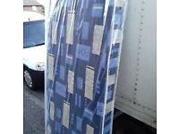 Brand New Single Padded spring mattress FREE delivery 2 available
