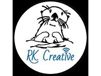 RK Creative, Edinburgh based self-employed Marketer.