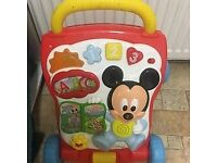 MICKEY MOUSE ELECTRONIC WALKER