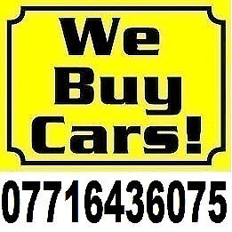 We Buy Any Car for Cash UK 50...UP 5000 07716436075