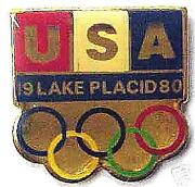 Lake Placid Pin