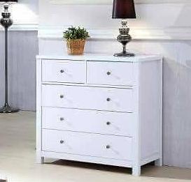 5 Drawer Cabinet- White Melbourne CBD Melbourne City Preview