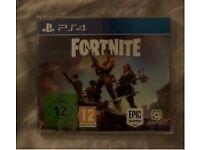 Fortnite PS4 Promo Game