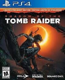 New Shadow of the tomb raider (steel book)