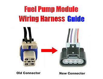 FuelPumpWiringHarnessReplacementGuide - Fuel Pump Wiring Connectors