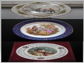 3 COLLECTORS PLATE