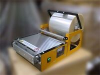 Delta 200 Overwrapper Manual machine for CD, DVD, Blu-Video Game Cases, Cosmetics, Perfume Boxes,etc
