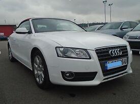 Audi A5 CONVERTIBLE CABRIOLET-2009 RARE COLOUR- 2.0 petrol