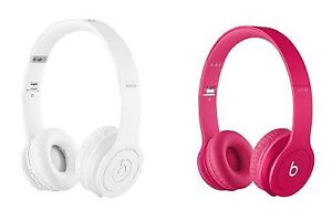 BRAND new BEATS by Dr Dre Solo HD Headphones white or pink sale!