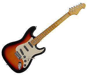"""California Classic"" Solid Body Electric Guitar - Sunburst"