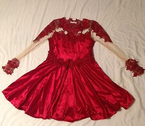Red Prom/grad Dress